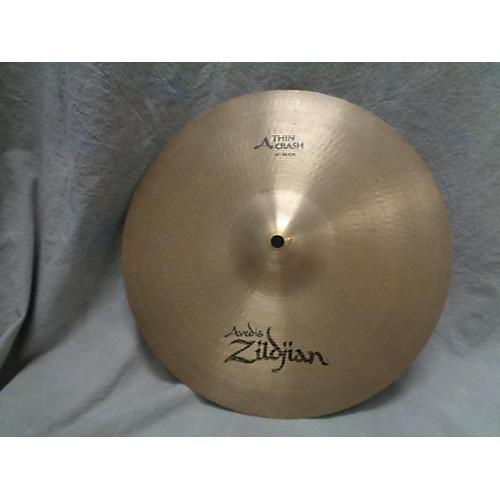 Zildjian 14in A Series Thin Crash Cymbal-thumbnail