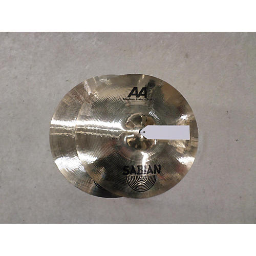 Sabian 14in AA Medium Hi Hat Pair Brilliant Cymbal