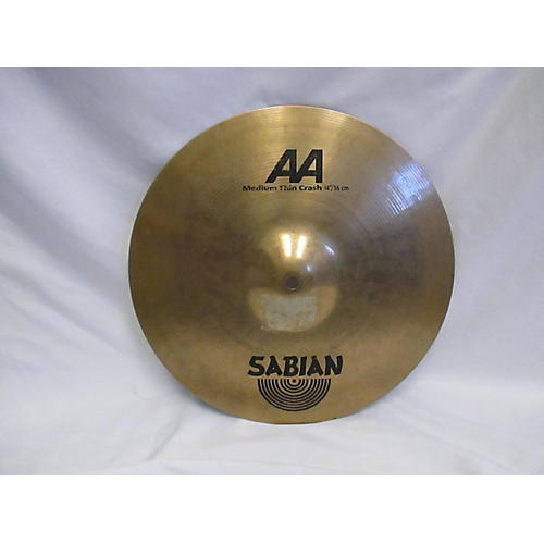 Sabian 14in AA Medium Thin Crash Cymbal-thumbnail