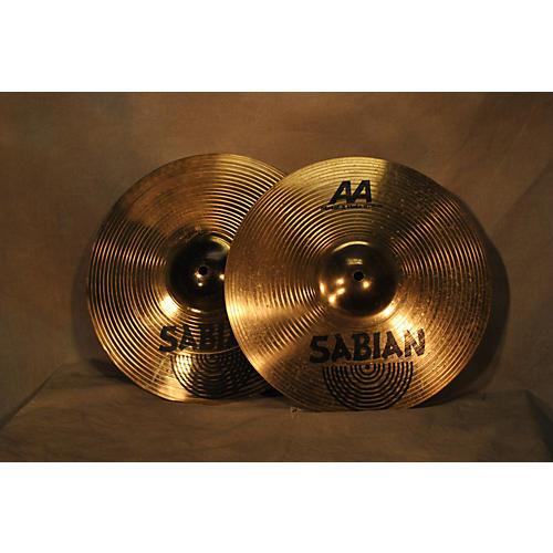 Sabian 14in AA Metal X Hi Hat Pair Cymbal-thumbnail