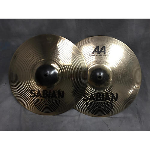 Sabian 14in AA Metal X Hi Hat Pair Cymbal
