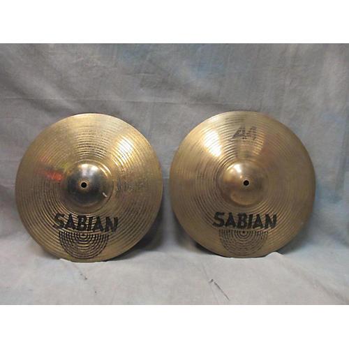 Sabian 14in AA Metal X Hi Hat Pair Cymbal
