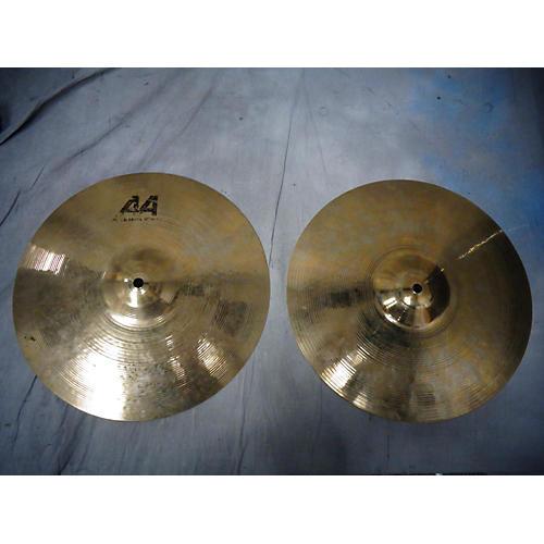 Sabian 14in AA Rock Hi Hat Pair Cymbal-thumbnail