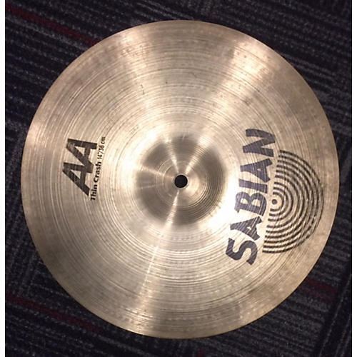 Sabian 14in AA Thin Crash Cymbal-thumbnail