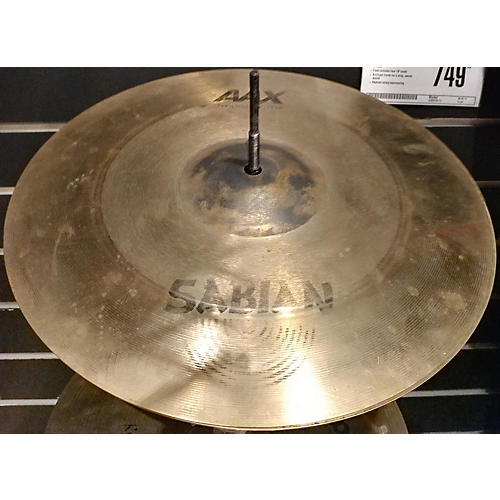 Sabian 14in AAX FREQ HATS Cymbal