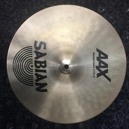 Sabian 14in AAX Metal Hi Hat Pair Cymbal