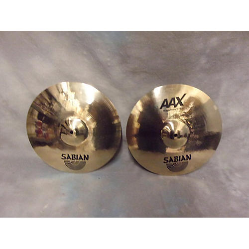 Sabian 14in AAX Stage Hi Hat Pair Cymbal-thumbnail