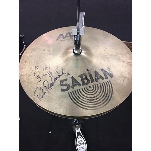 Sabian 14in AAX Stage Hi Hat Pair Cymbal-thumbnail