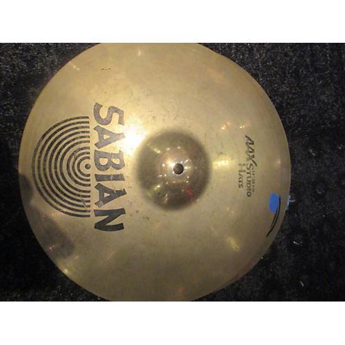 Sabian 14in AAX Studio Hihat Pair Cymbal