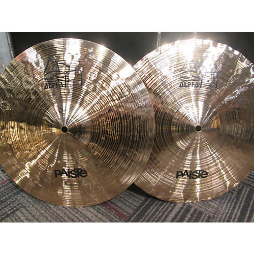 Paiste 14in ALPHA POWER HI HAT PAIR Cymbal-thumbnail