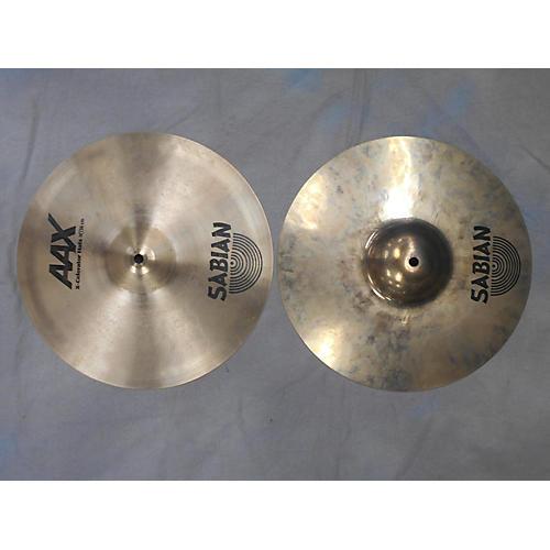Sabian 14in Aax Hi Hats Cymbal