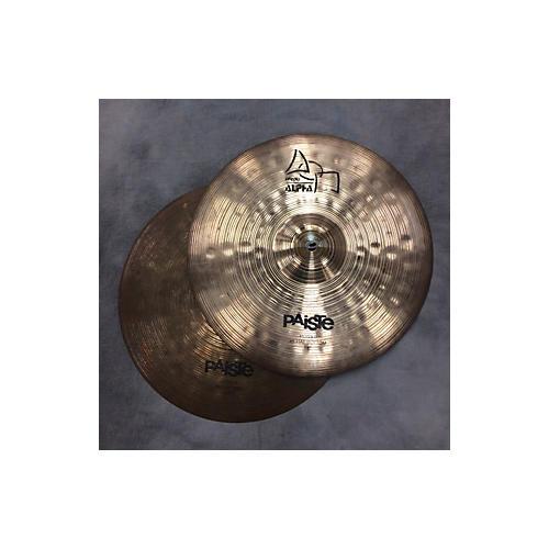 Paiste 14in Alpha Boomer Hi Hat Pair Cymbal
