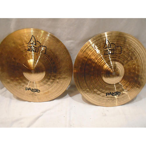 Paiste 14in Alpha Medium Hi Hat Pair Cymbal-thumbnail