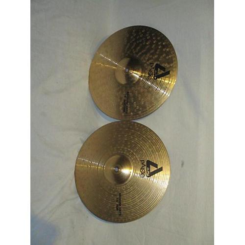 Paiste 14in Alpha Medium Hi Hat Pair Cymbal