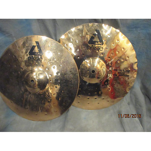 Paiste 14in Alpha Metal Edge Hihat Cymbal