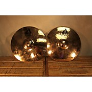 Paiste 14in Alpha Rock Hi Hat Pair Brilliant Cymbal