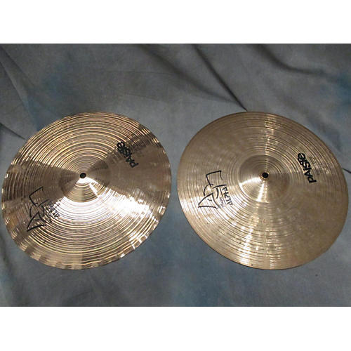 Paiste 14in Alpha Sound Edge Hi Hat Pair Cymbal-thumbnail