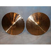 Paiste 14in Alpha Sound Edge Hi Hat Pair Cymbal