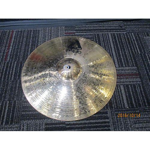 Paiste 14in Alpha Thin Crash Cymbal-thumbnail