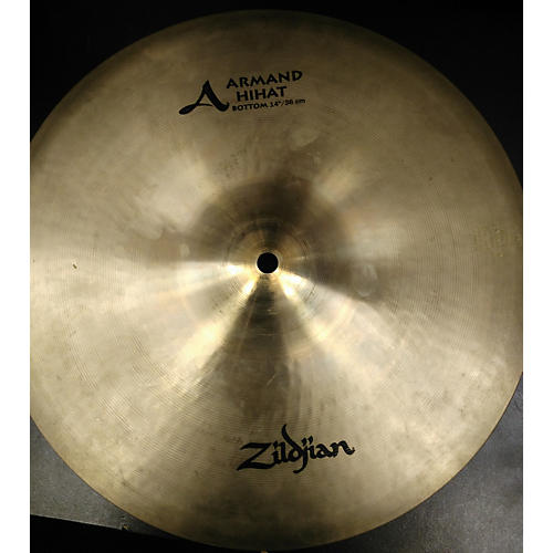 Zildjian 14in Armand Series Hi Hat Bottom Cymbal-thumbnail