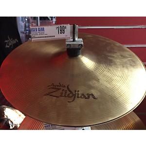 Pre-owned Zildjian 14 inch Avedis Hi Hat Pair Mastersound Top Newbeat Bottom by Zildjian