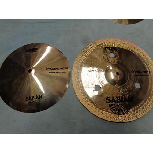 Sabian 14in B8 Assault Hats Cymbal