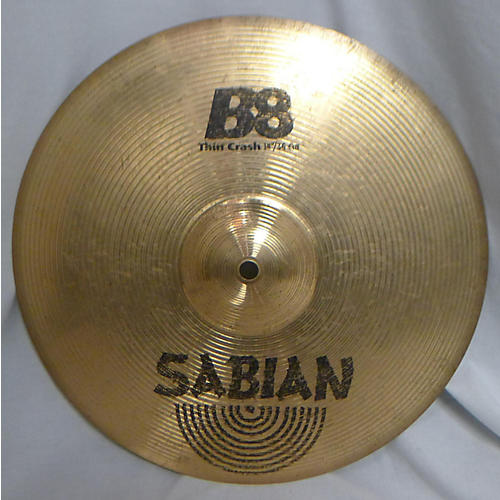 used sabian 14in b8 crash cymbal guitar center. Black Bedroom Furniture Sets. Home Design Ideas