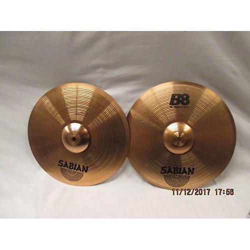 Sabian 14in B8 Hats Cymbal
