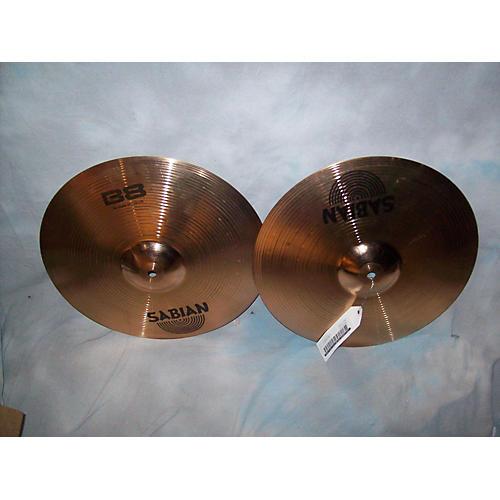 Sabian 14in B8 Hi Hat Pair Cymbal-thumbnail