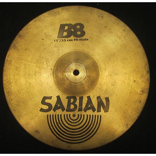 Sabian 14in B8 Hi Hat Pair Cymbal  33