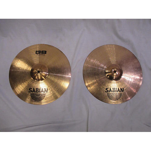 Sabian 14in B8 Hi Hat Pair Cymbal