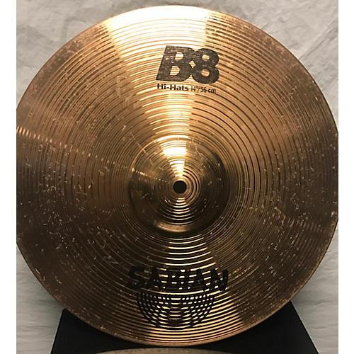 Sabian 14in B8 Hi Hat Top Cymbal-thumbnail