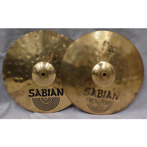 Sabian 14in B8 PRO ACCELERATOR HI-HATS Cymbal