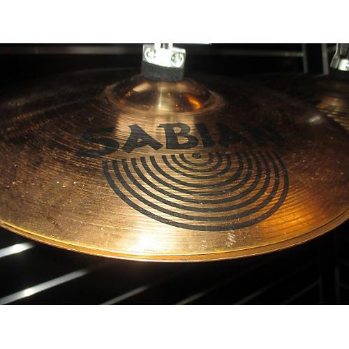 Sabian 14in B8 Rock Hi Hats Cymbal-thumbnail