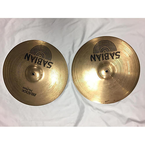 Sabian 14in B8 Rock Hi Hats Cymbal