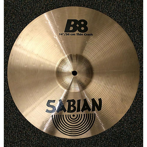 Sabian 14in B8 Thin Crash Cymbal-thumbnail