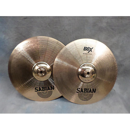 Sabian 14in B8X Hi Hat Pair Cymbal-thumbnail