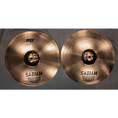 Sabian 14in B8X Pair Hi Hat-thumbnail