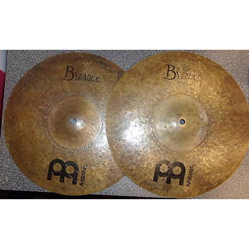 Meinl 14in Byzance Dark Hi Hat Cymbal