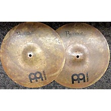 "Meinl 14in Byzance Dark Hi Hat Set 14"" Cymbal"
