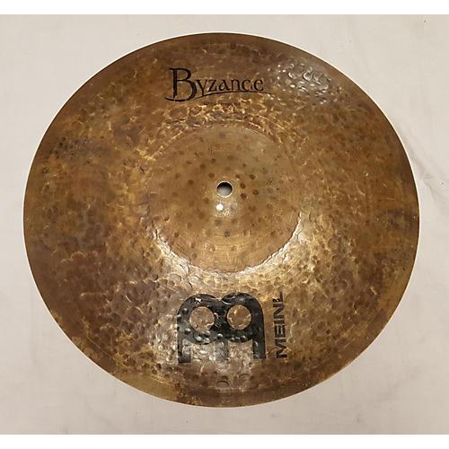 Meinl 14in Byzance Dark Hi Hat Top Cymbal