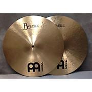 Meinl 14in Byzance Heavy Hi Hat Pair Cymbal