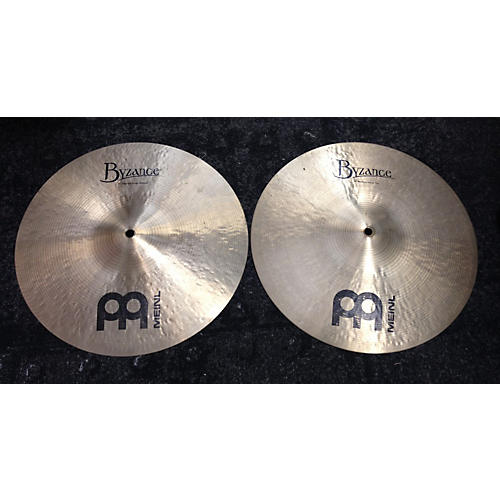 Meinl 14in Byzance Medium Hi Hat Pair Cymbal