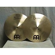 Meinl 14in Byzance Medium Hi Hat Pair Cymbal
