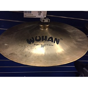 Pre-owned Wuhan 14 inch China Cymbal by Wuhan