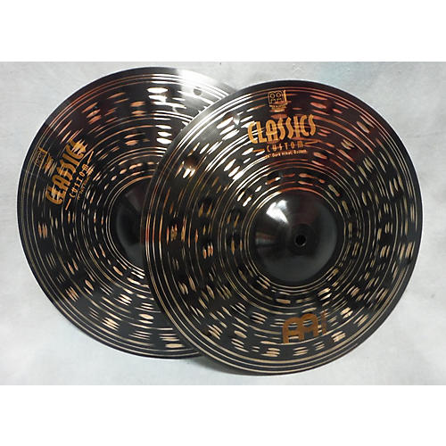 Meinl 14in Classic Custom Dark Hi Hat Pair Cymbal-thumbnail