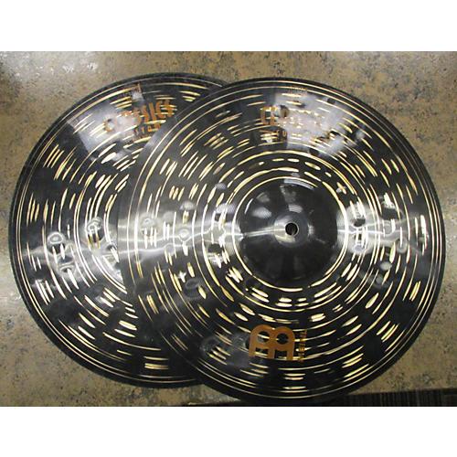 Meinl 14in Classic Custom Dark Hi Hat Pair Cymbal