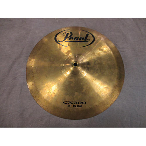 Pearl 14in Cx300 Hi Hat (top) Cymbal-thumbnail