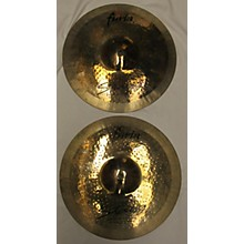 Stagg 14in F-HR14B Furia Rock Brilliant Hi Hats (Pair) Cymbal