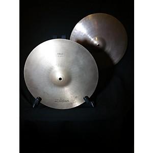 Pre-owned Zildjian 14 inch FIELD HI HAT PAIR Cymbal by Zildjian